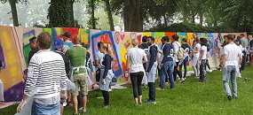 graffiti workshop Noord-Limburg